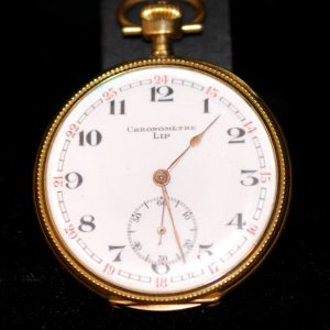 montre homme chronometre lip 1